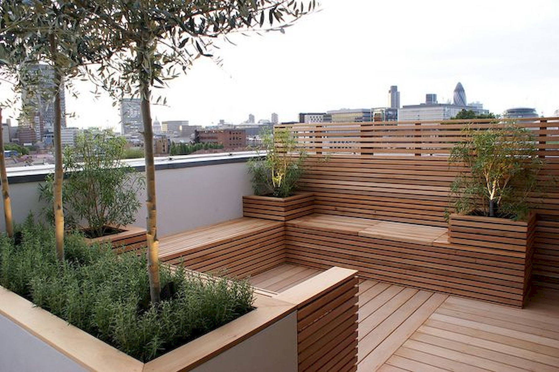 40+ Modern Rooftop And Balcony Garden Ideas | Rooftop ...