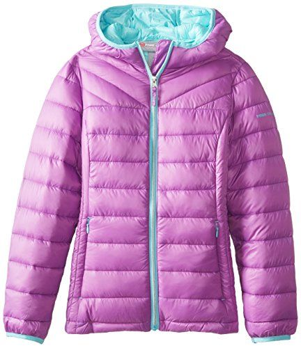 Puma Girls' Puffer Jacket * Check out this great image @ | Down ...
