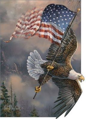 1dfe115c2f26 Eagle carrying flag in talons FB profile