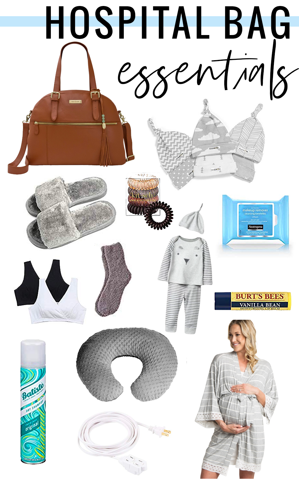 hospital bag essentials for labor and delivery - what you need to pack in your hospital bag #newborn… | Hospital bag essentials, Hospital bag, Baby girl diaper bags