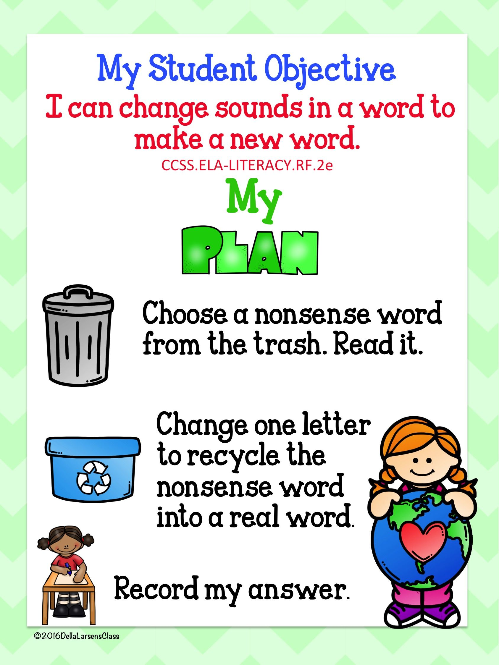 Nonsense Words For Earth Day