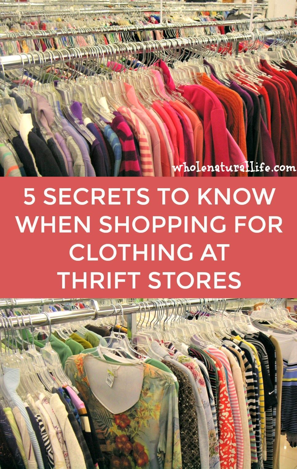 5 Secrets For Success When Shopping For Used Clothing At Thrift