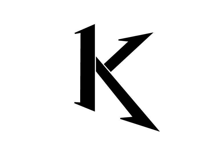 عکس پروفایل حرف K زیبا جذاب و متنوع Lettering Letter K Letters