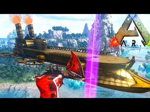 cool GIANT FLYING SKY SHIP! PYGMY GRIFFIN TAMING! - (Ep4