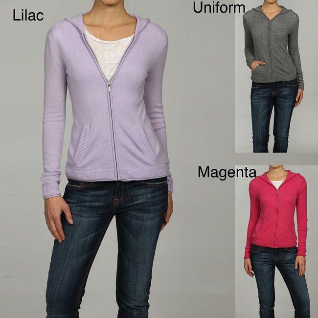 Cashmere Zip Sweater Women S Coat Nj