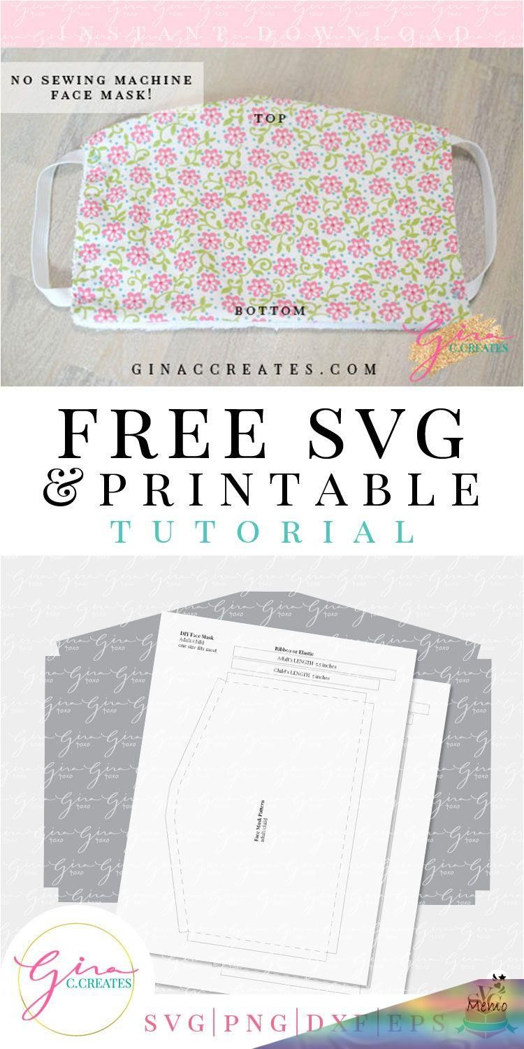 Photo of Mar 25, 2020 – No Sewing Machine Face Mask Tutorial with Free Pattern (Note: Thi…