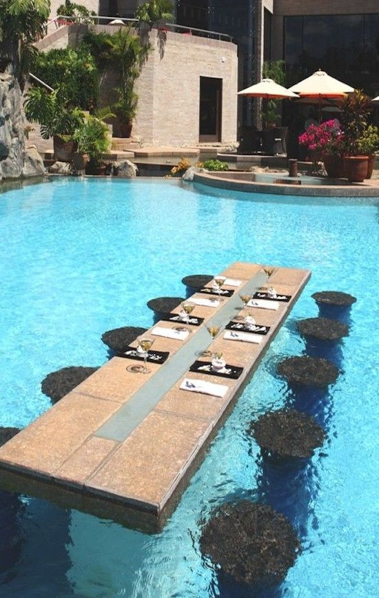 Gives New Meaning To The Term Pool Table Luxury Pool Oasis Swimming Pool Backyard Pool Designs Dream Pools