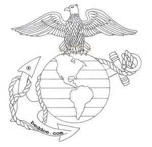 Usmc Design Anchor Drawings Usmc Tattoo Line Art