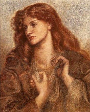 Alexa Wilding by Dante Gabriel Rossetti