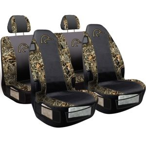 Ducks Unlimited Seat Covers >> Realtree Ducks Unlimited Camo Three Piece Seat Cover Set