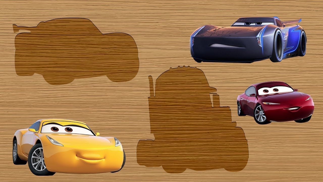 Disney Pixar Cars 3 Wrong Slots Lightning McQueen Jackson Storm Cruz ...
