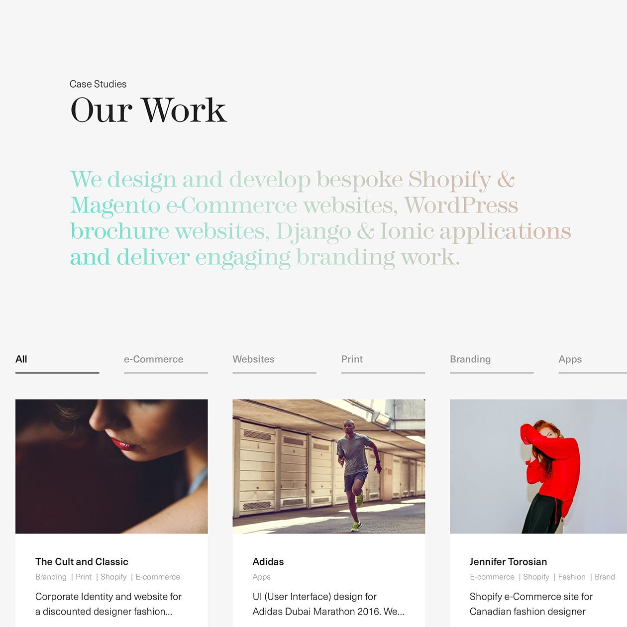 Fonts Used Modern 216 And Neue Haas Unica Typewolf Typography Inspiration Web Design Examples Portfolio Web Design Web Development Design