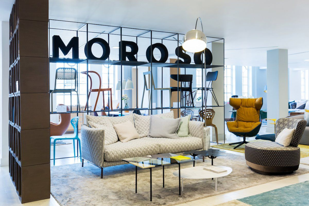 Designer Sofas And Curtains Tottenham Court Road Making Waves With Moroso Part Of Heal 39s Designer