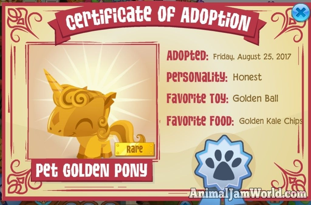 Pin On Animal Jam Pets