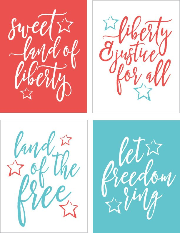 Printable 4th of July Quotes Free Printables July quotes, July