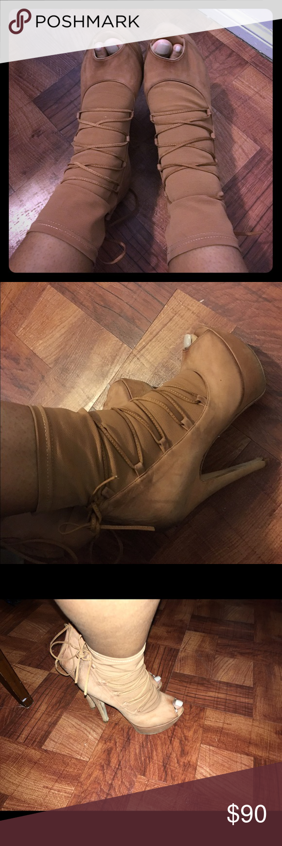 Barneys coops lace up booties ! Beautiful lightly worn lace up booties from Barneys! Barneys New York CO-OP Shoes Ankle Boots & Booties