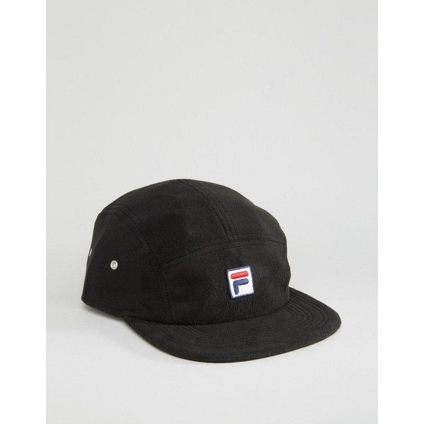 87d4f0c1263 Fila Cap In Fleece With Box Logo Exclusive to ASOS (£14) ❤ liked on ...