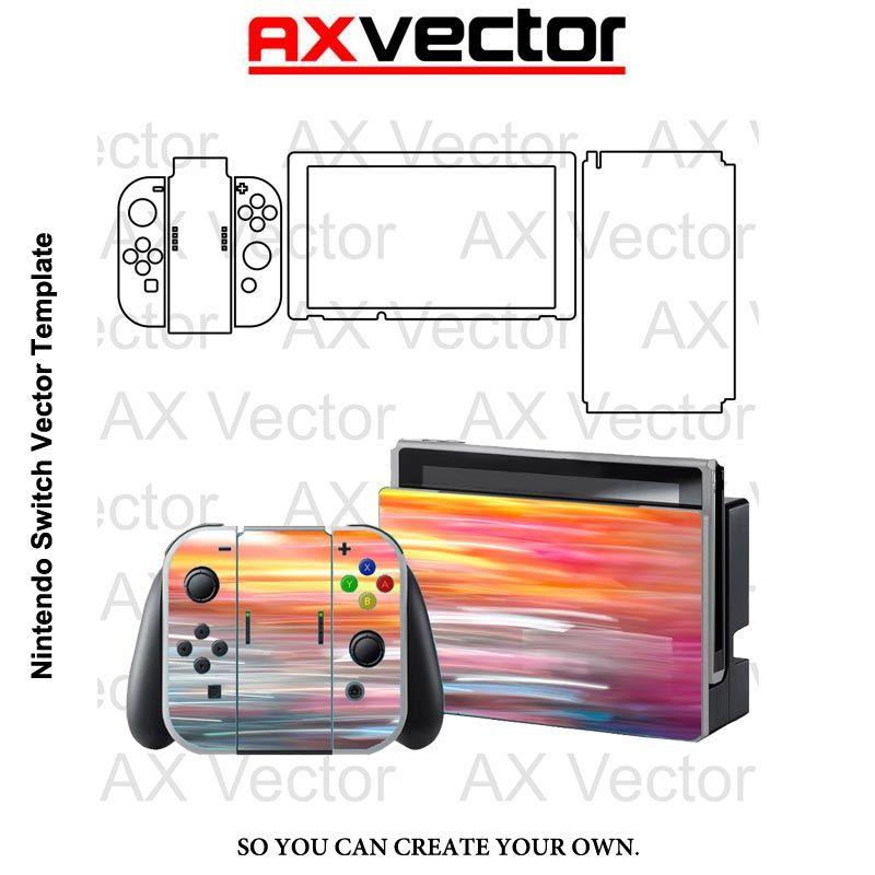 Nintendo Switch Vector Template Nintendo 3ds Xl