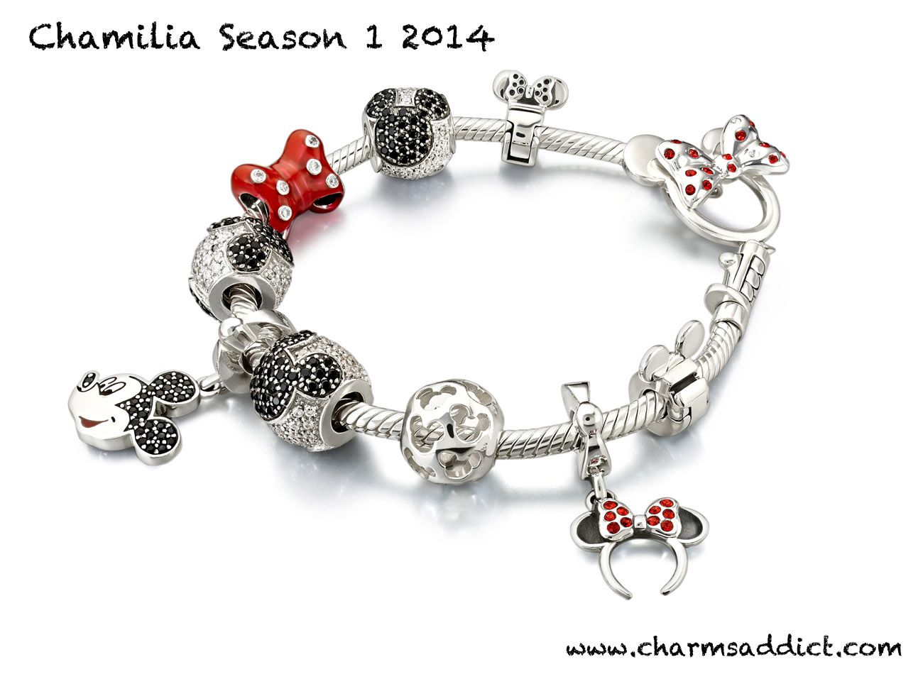 charm pandora disney minnie