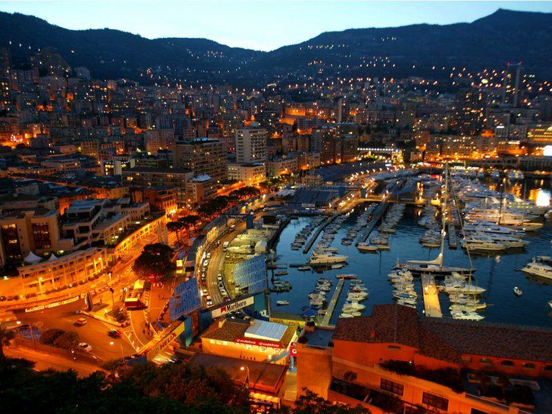 Monaco Monte Carlo circuit, oozing glamour Monaco grand