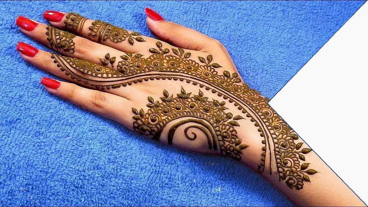 Arabic MEHNDI design latest IMAGES 2018 easy mehndi designs