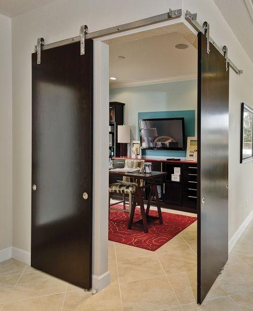Wall Mounted Doors For An Industrial Look Interior Barn Doors