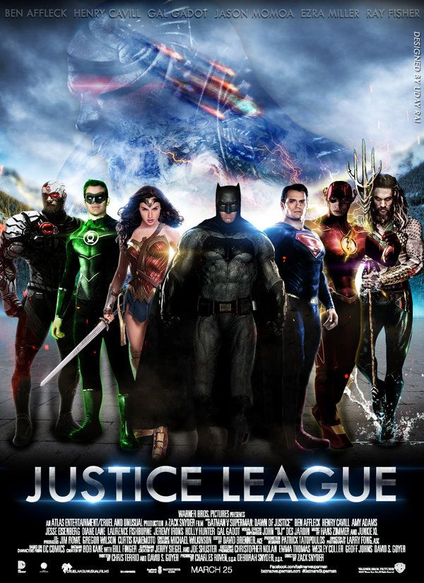 Justice League Movie Poster Fanart By Iamuday On Deviantart Justice League Full Movie Justice League Justice League 2017