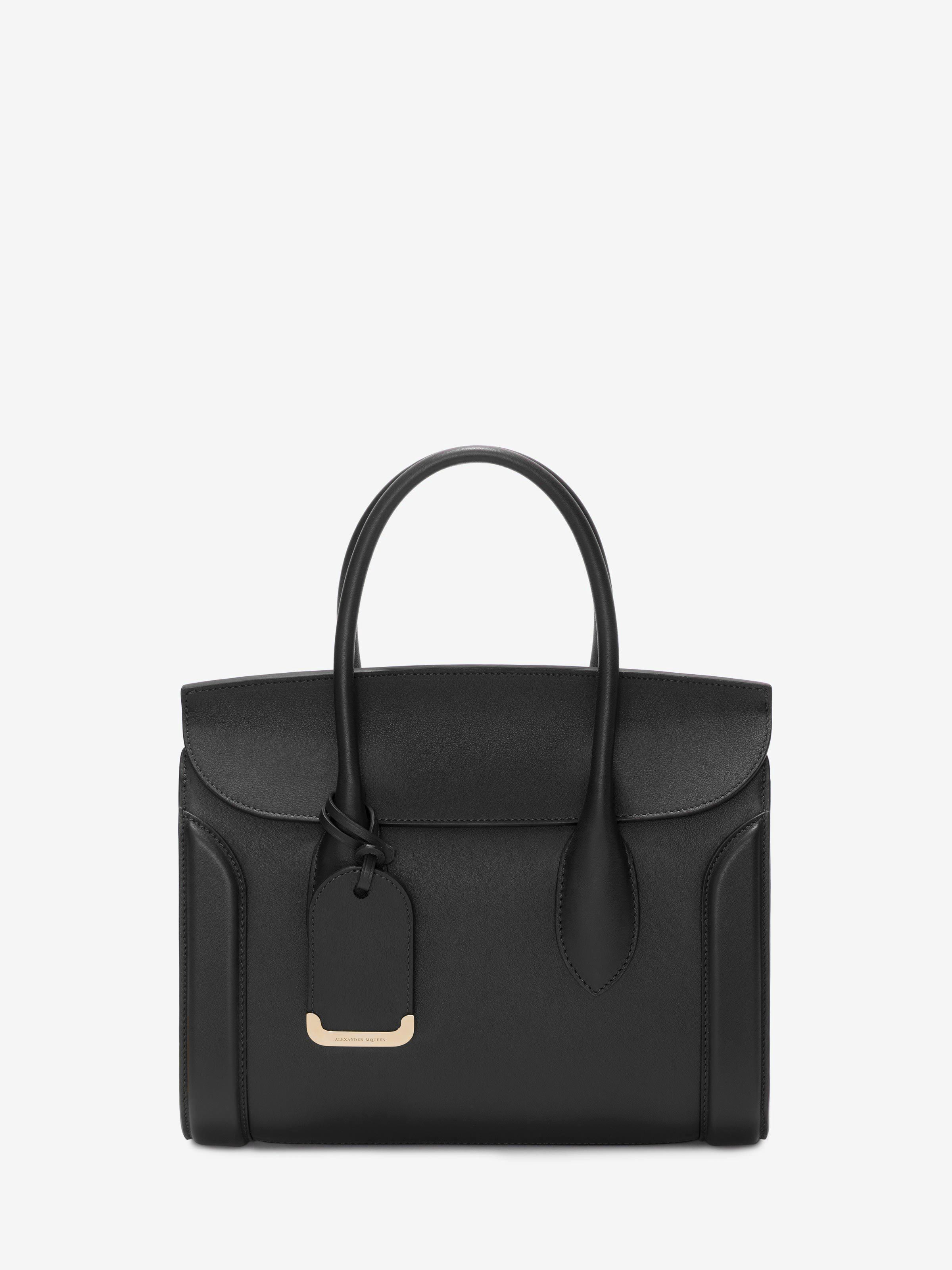 Tote Bag On Sale, Black, Leather, 2017, one size Alexander McQueen