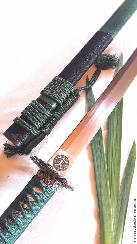Катана.Японский меч | Катана, Меч, Самурайские мечи