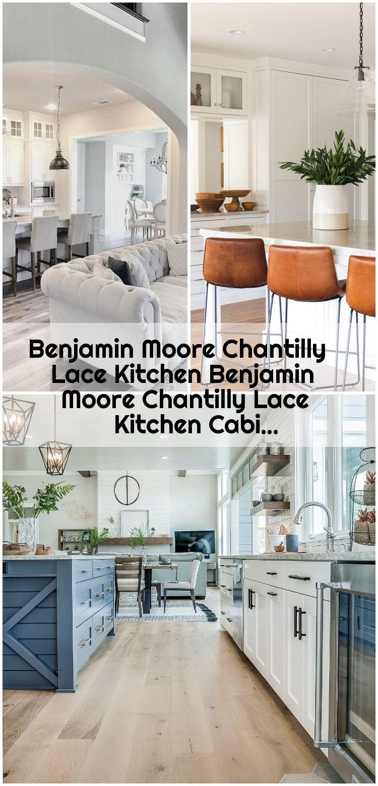 Benjamin Moore Chantilly Lace Kitchen Benjamin Moore Chantilly Lace Kitchen Cabi Benjam In 2020 Kitchen Benjamin Moore Counter Bar Stools