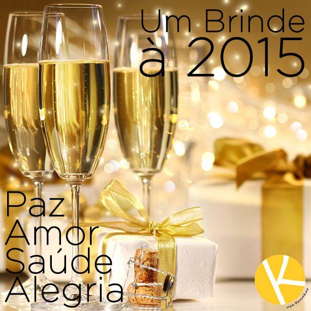 A Kanekas deseja à todos um Feliz Ano Novo, muita paz, amor, saúde e alegria! Feliz 2015!