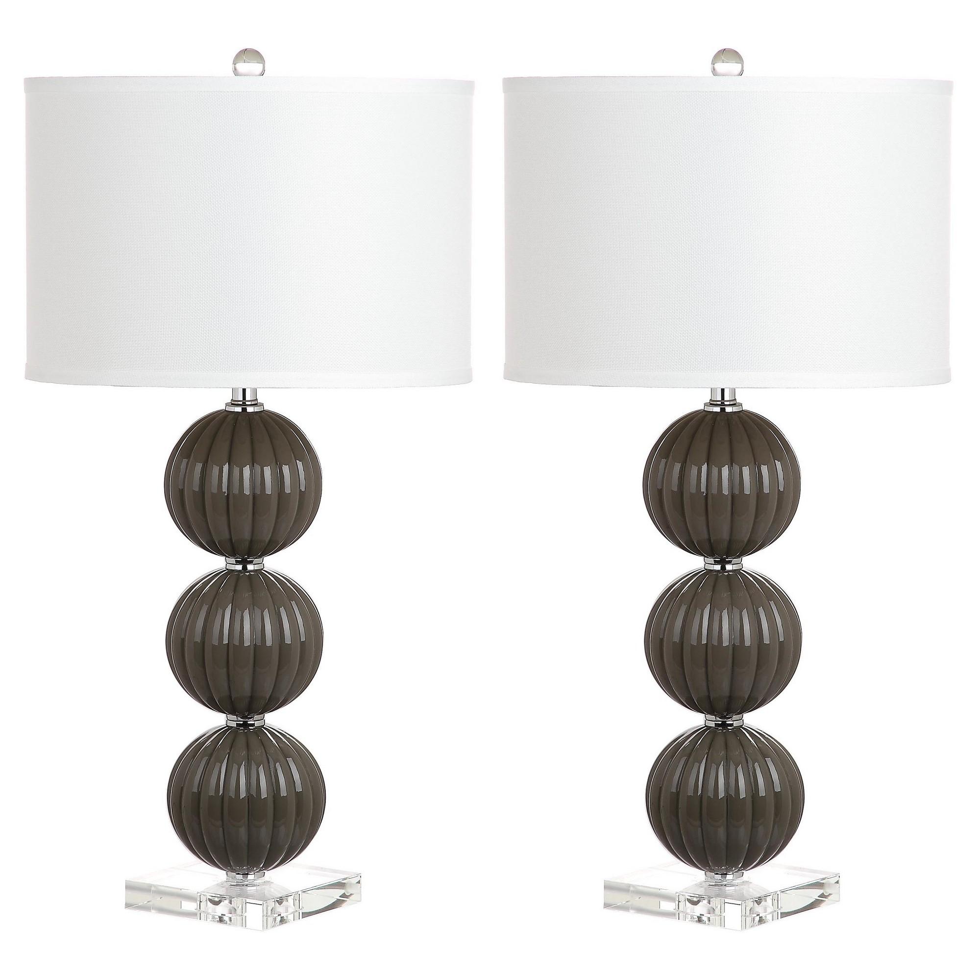 Dax Table Lamp Cream (Ivory)Gold Safavieh | Table lamp