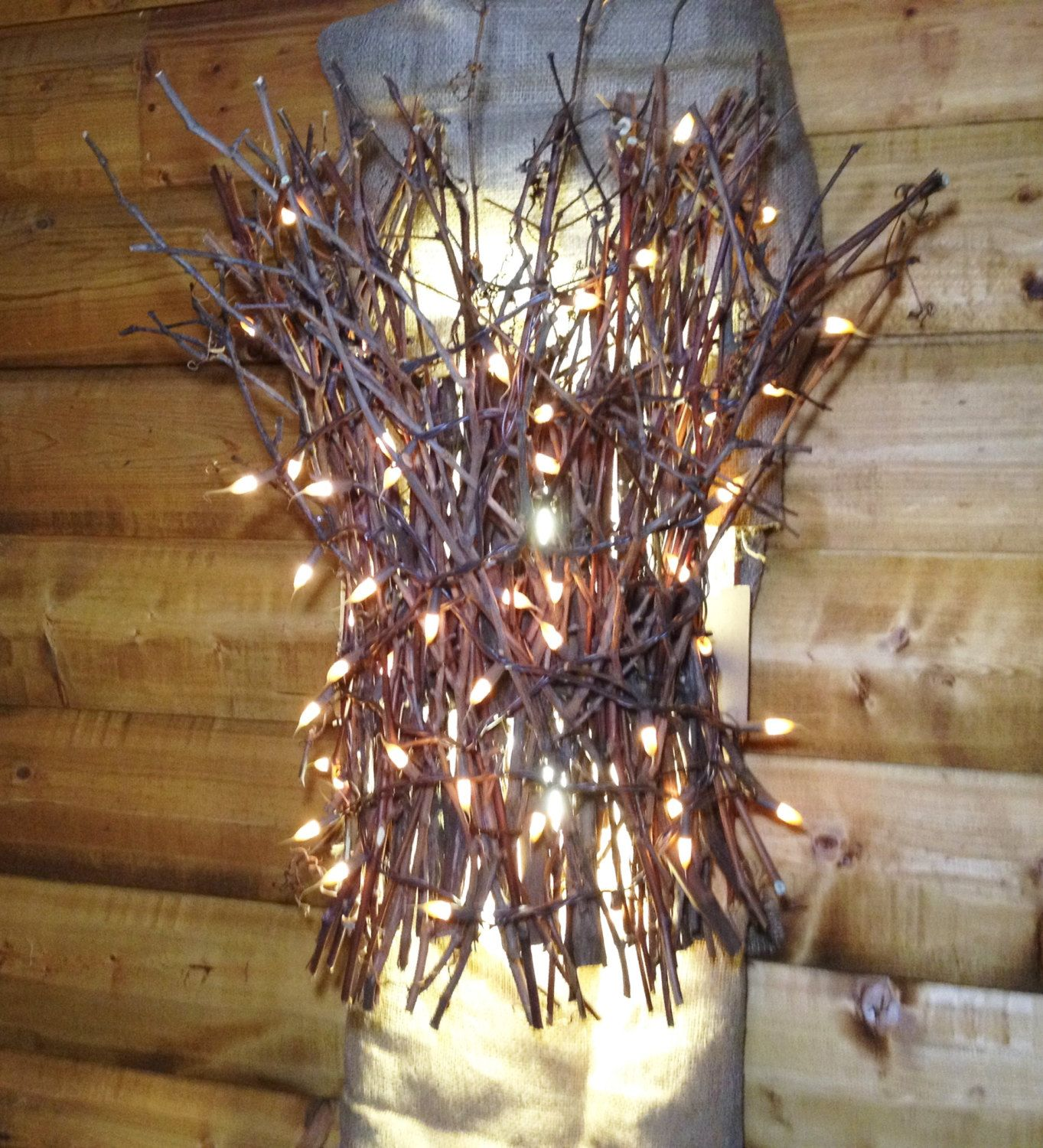Twig Sconce Wall Sconce Light Light Up Branches Up Down