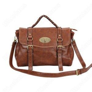 Vintage Uk Style Faux Pu Leather Shoulder Bag Handbag Messenger Cross Body Ebay