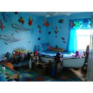 Under Sea Kids Room Google Search Bedrooms Ocean