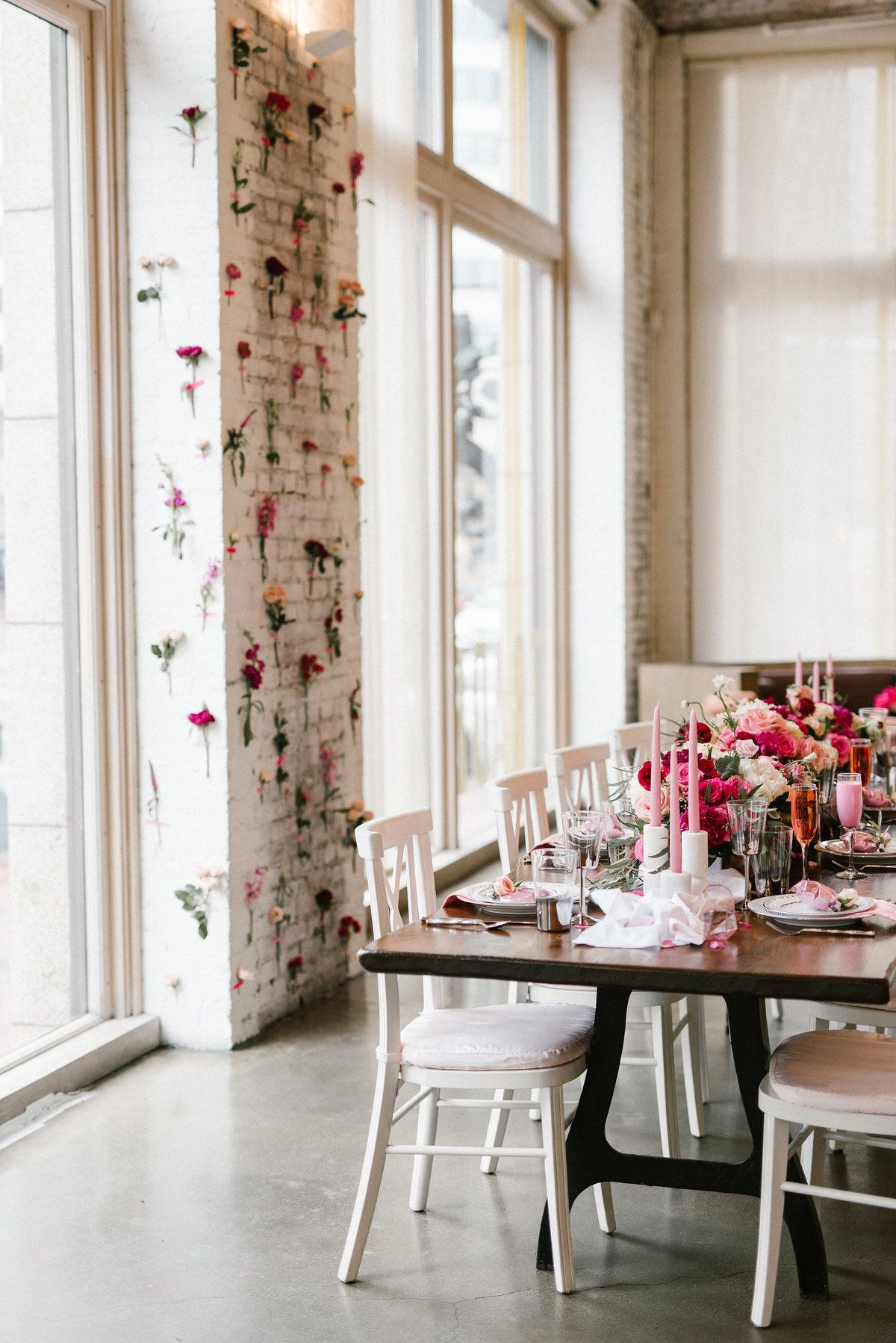 apotheca flowers photographed by lindsay hackney at trade restaurant in boston