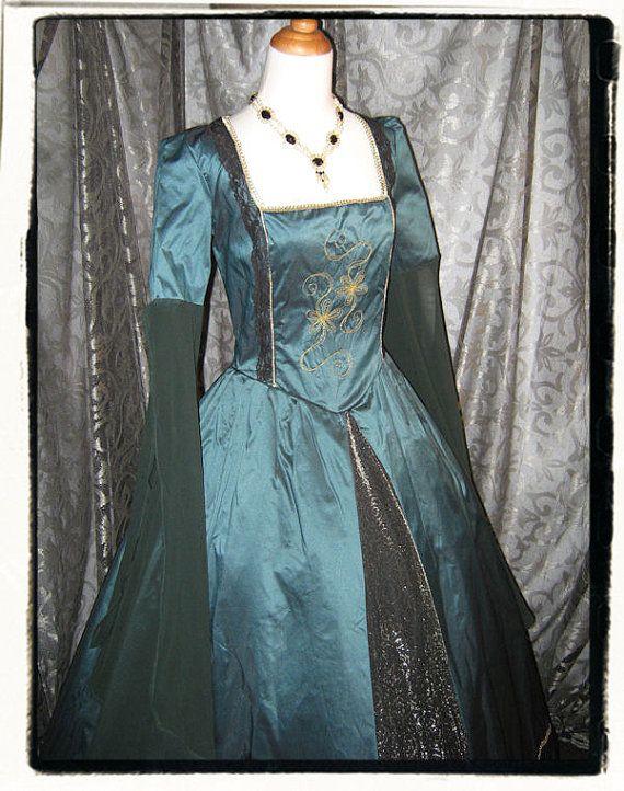 Envy Tudor Renaissance Wedding Gown Bust 40 by RecycledRockstah ...