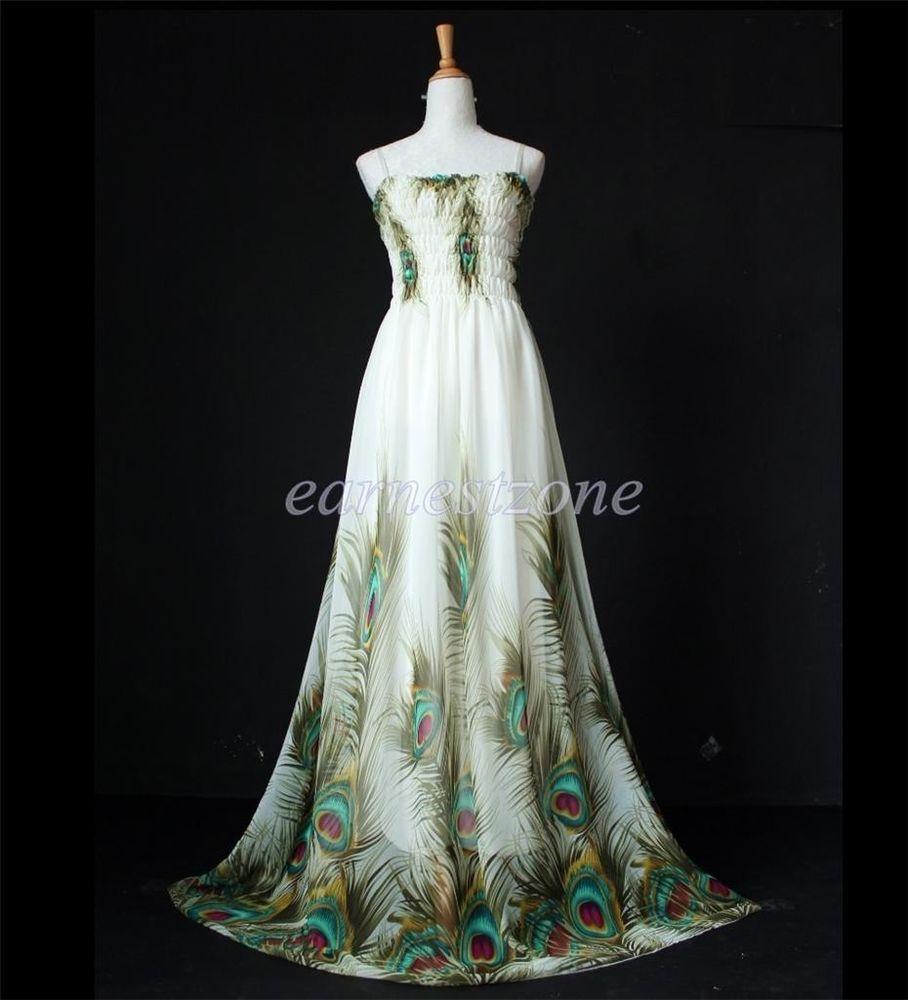 Maxi dress new cheap long bridesmaid peacock plus size party evening
