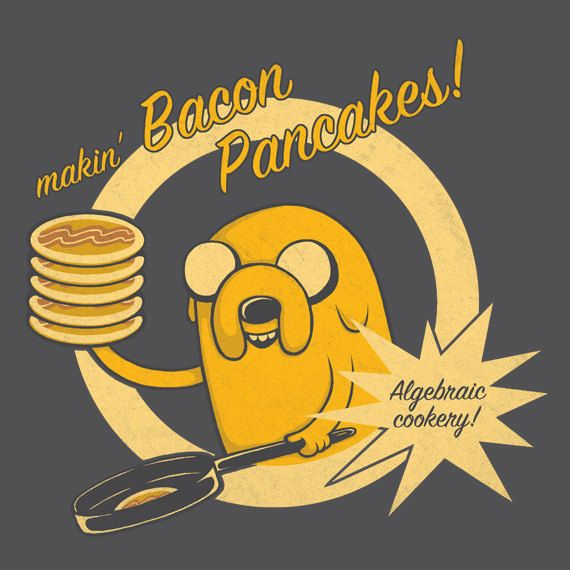 Cooking Time Bacon Pancakes Adventure Time inspired by Perdita00
