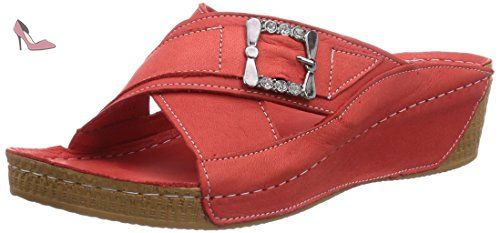 Rotrot 0779205021Claquettes 021 Andrea Conti Femme Rouge 7bf6gy