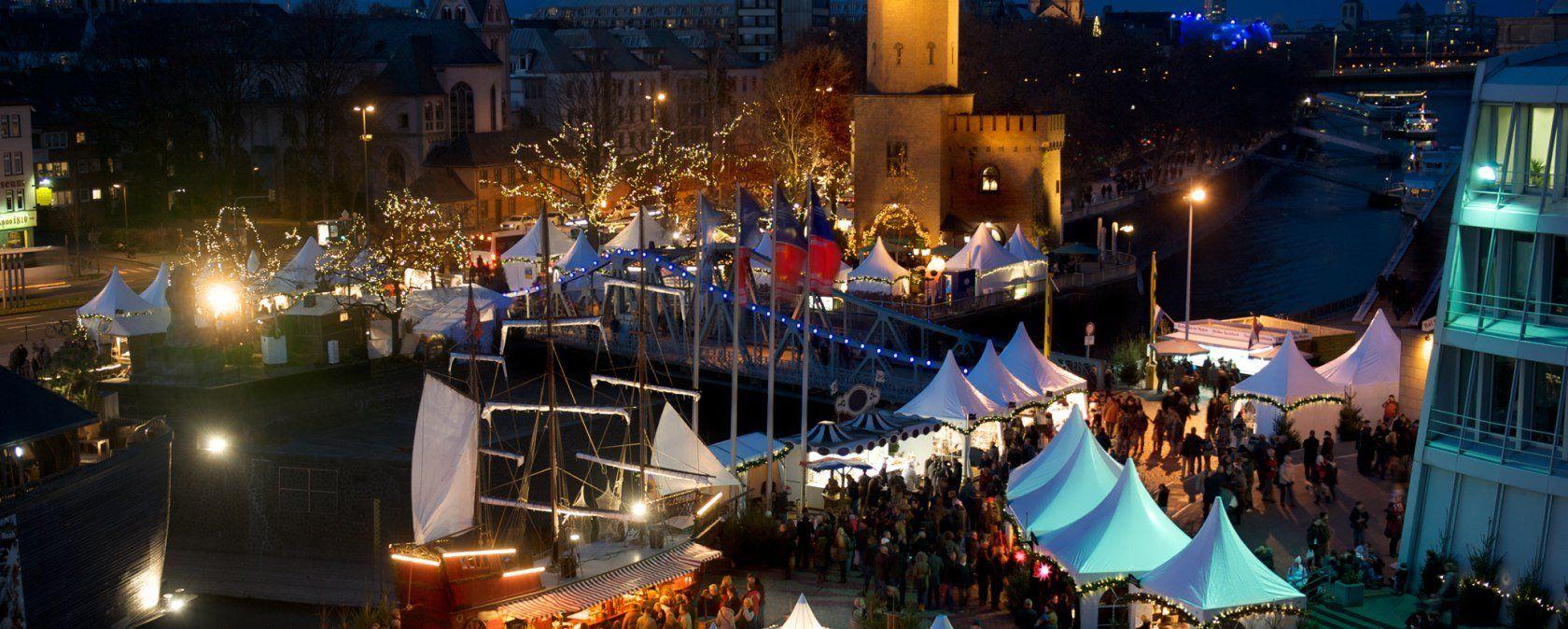 Kölner Hafen Weihnachtsmarkt Köln