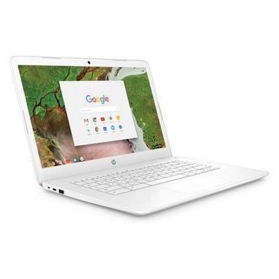 "HP 14"" Touchscreen Chromebook model 14ca021nr White in"
