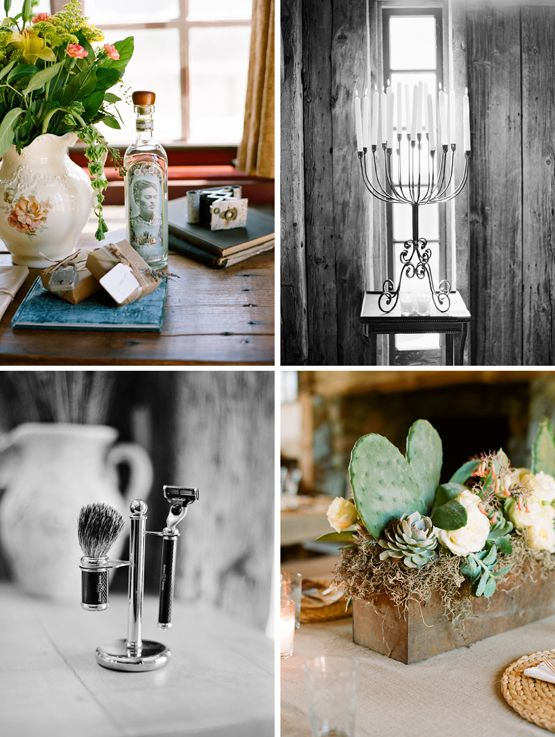 The little touches of decor can add layers and depth to your wedding reception theme.