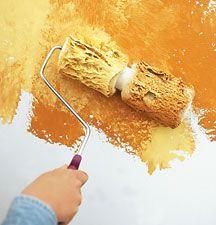Mottled Decorative Paint Finishes