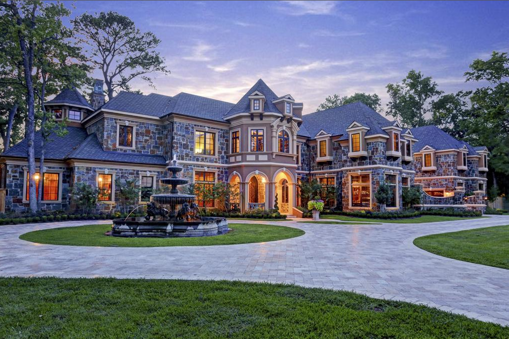 Front Exterior Dream Big Elegant Homes Mansions