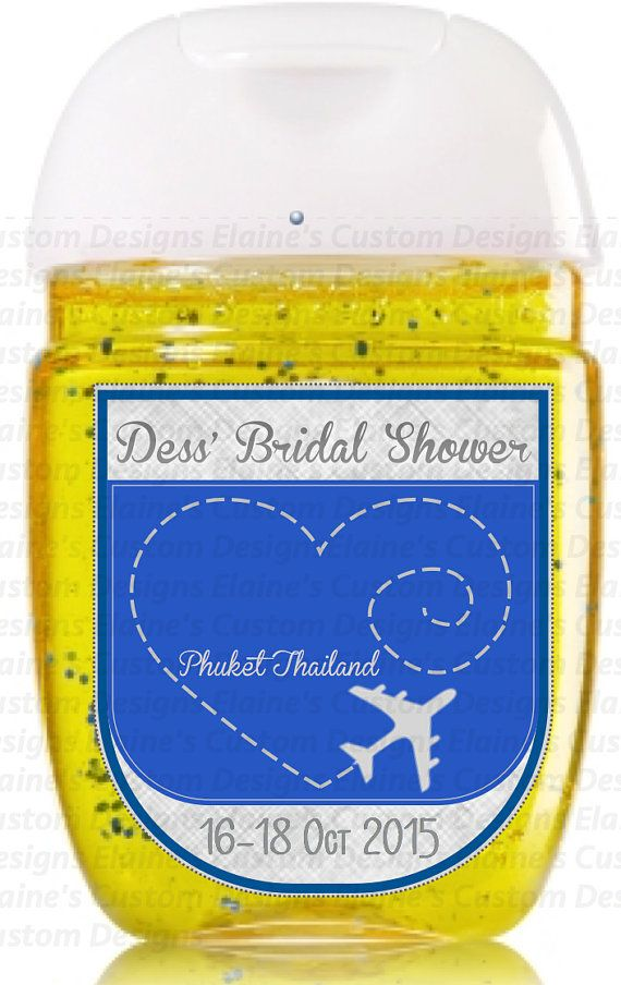 Travel Out Of Town Airplane Bridal Shower Custom Design Bridal