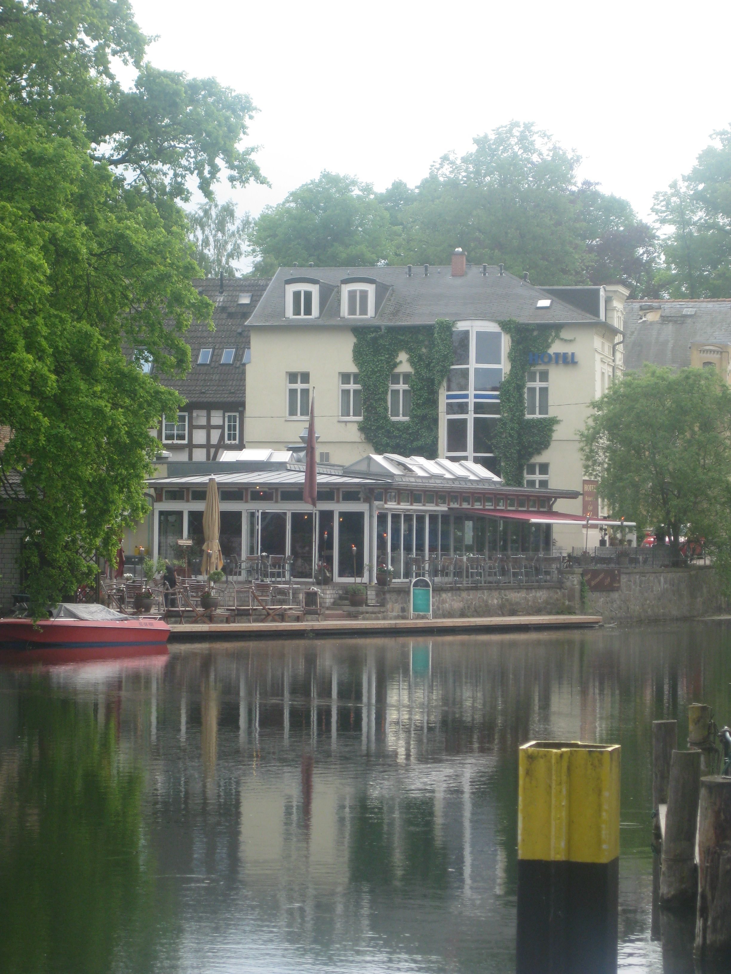 Along the Canal in Plau Am See, Germany. Places, Plau am