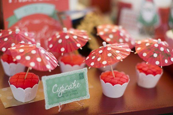 Cha-de-cozinha - cupcakes