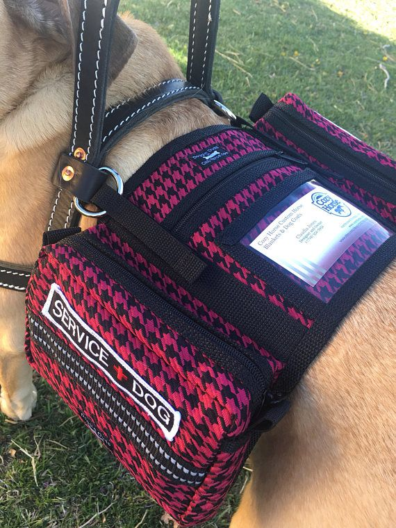 Cozyhorse Service Dog Backpack Style Vest Made To Fit A Service