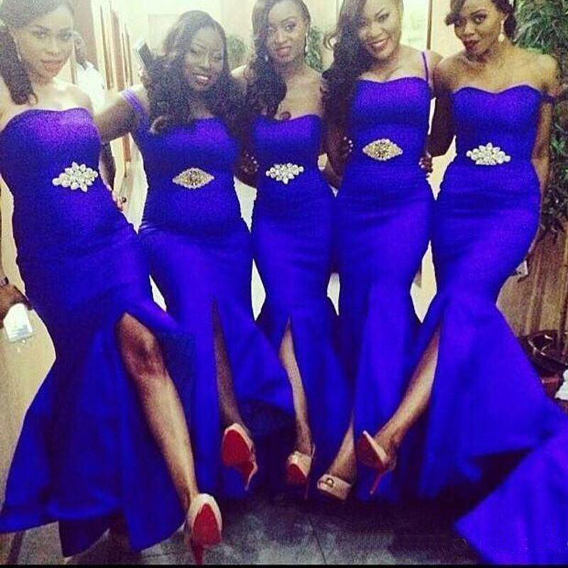 Find More Bridesmaid Dresses Information about Sexy Royal Blue Long ...
